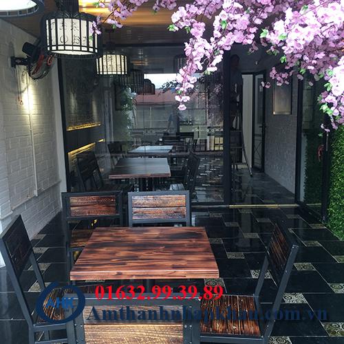 Dự án âm thanh nghe nhạc cho quán cafe, trà sữa số 10 phố chả cá Hà Nội 16