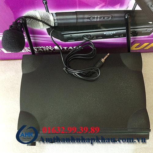Micro cài áo Weisre PGX58 độ hút tốt không hú rít chính hãng có CO,CQ 1