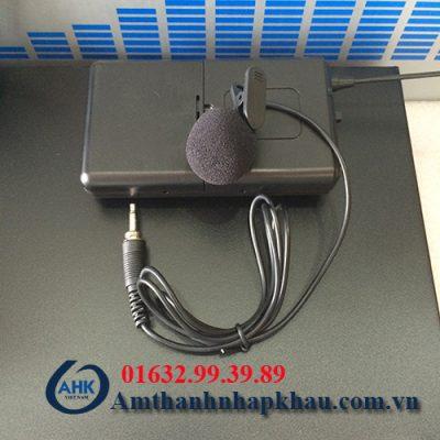 Micro cài áo Weisre PGX58 độ hút tốt không hú rít chính hãng có CO,CQ 2