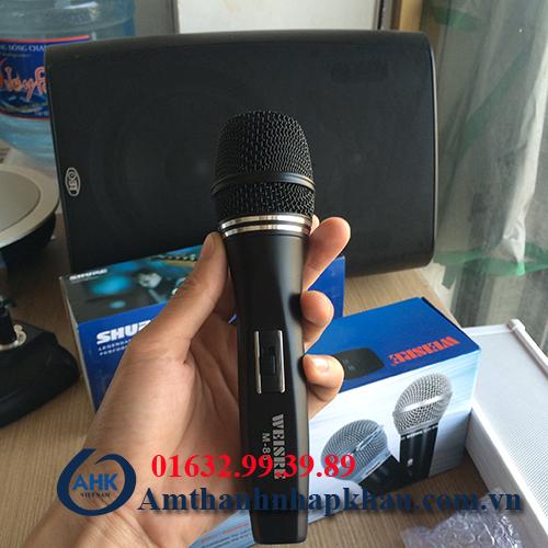Micro có dây weisre M88 tốt nhập khẩu giá phù hợp cho gia đình 1