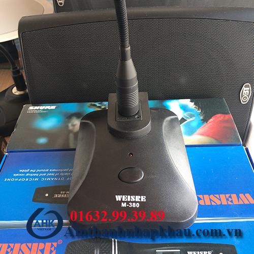 Micro cổ ngỗng Weisre M380 micro bị nhập khẩu 2