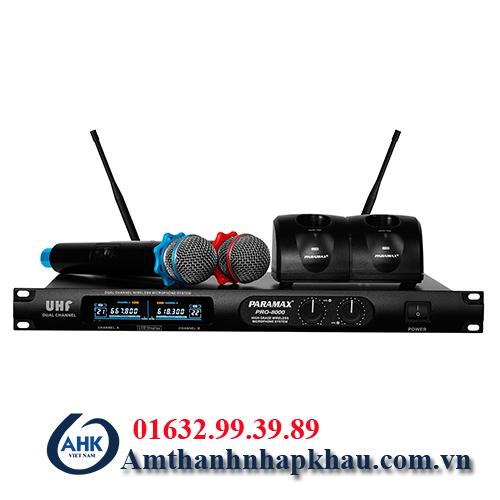 micro không dây paramax Pro 8000 (3)