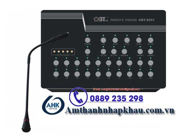 micro thông báo 10 vùng OBT 8051