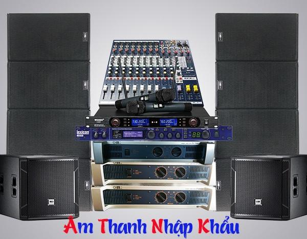 Cấu hình 1 dàn âm thanh Array chất lượng âm thanh đỉnh cao