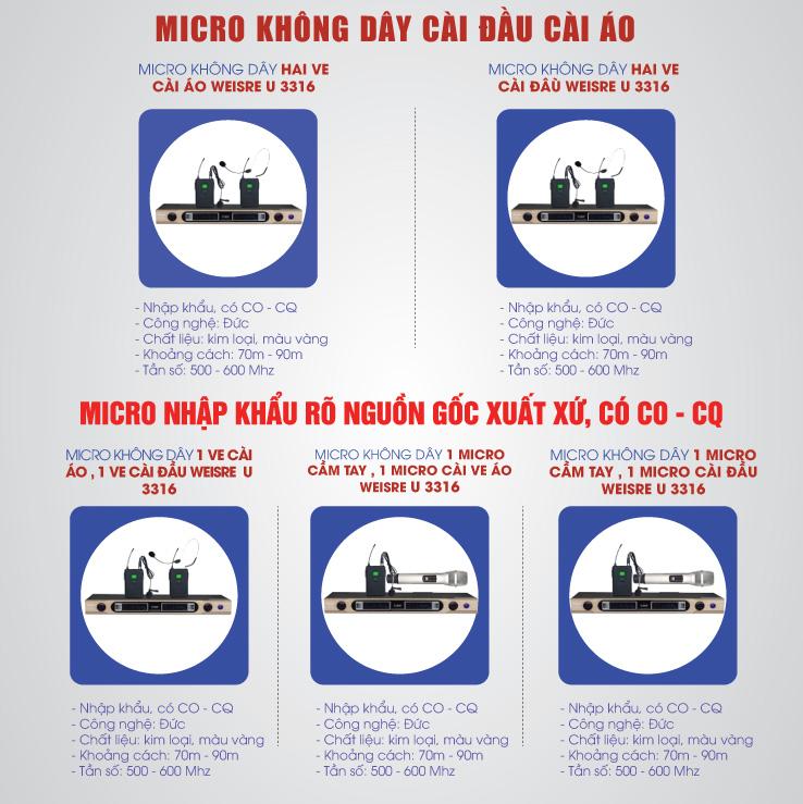 Micro không dây cài tai có những loại nào tốt nhất?