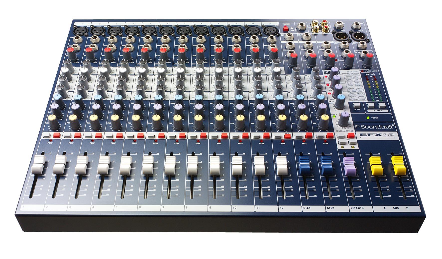 Những chức năng, tính năng cơ bản để chỉnh bàn trộn mixer