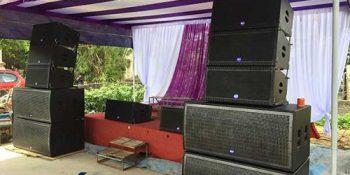 Dự án dàn loa Array phục vụ dàn âm thanh đám cưới chuyên nghiệp anh Minh tại Phú Thọ 1