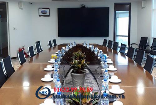 Dự án lắp đặt âm thanh phòng họp công ty cổ phần phân bón dầu khí cà mau (PVCFC)