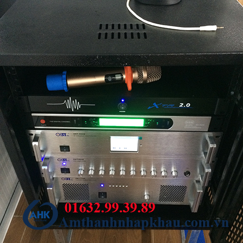 Dự án âm thanh thống báo 2 chiều IP nhà máy TCE Vinadenim hệ thống IP OBT 9800 11