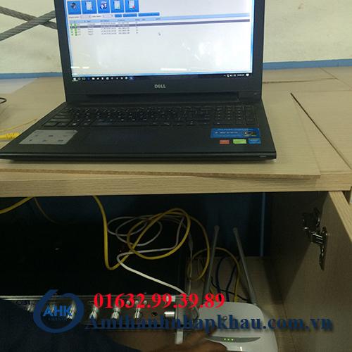 Dự án âm thanh thống báo 2 chiều IP nhà máy TCE Vinadenim hệ thống IP OBT 9800 14