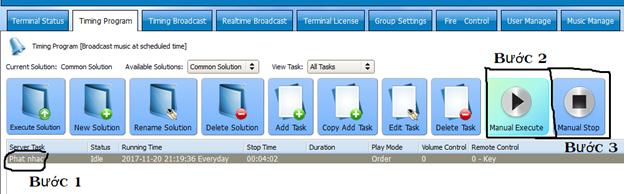 Hướng dẫn sử dụng phần mềm quản trị hệ thống IP OBT 9800 5