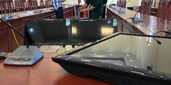 Dự án lắp đặt âm thanh hội thảo, hội nghị trực tuyến sở chỉ huy quân sự Tỉnh Lạng Sơn 16