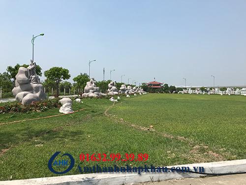 Dự án loa ngoài trời giả đá cho khu công nghiệp Bảo Minh Vụ Bản Nam Định 1