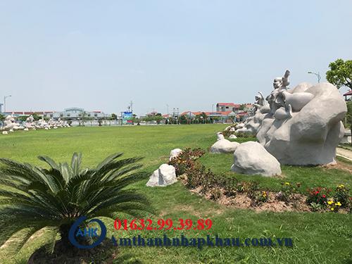 Dự án loa ngoài trời giả đá cho khu công nghiệp Bảo Minh Vụ Bản Nam Định 5