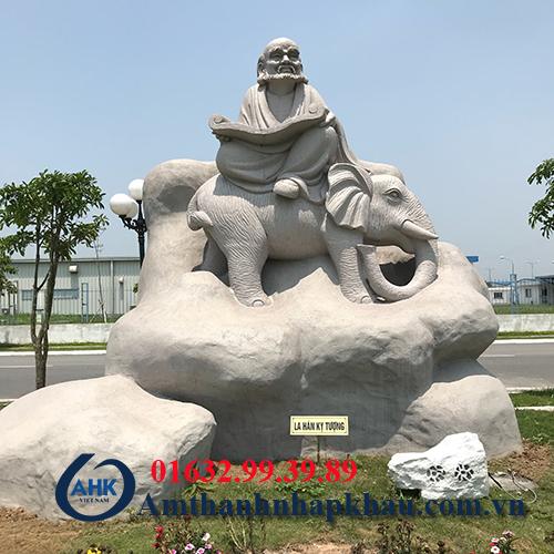 Dự án loa ngoài trời giả đá cho khu công nghiệp Bảo Minh Vụ Bản Nam Định 7