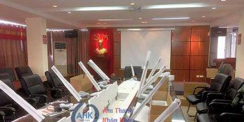 lắp đặt hệ thống âm thanh Phòng Họp tại Báo Giao Thông