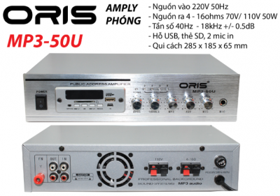 Amply Oris MP3- 50U 1