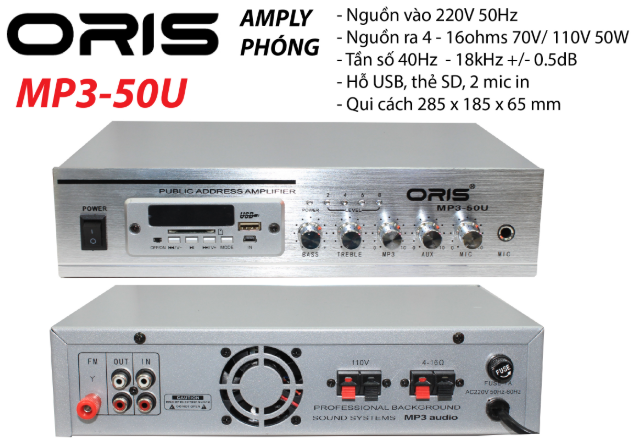 amply-oris-mp3-50u