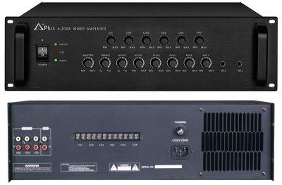 Amply chọn vùng cho hệ thống âm thanh tòa nhà