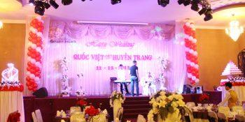 Dịch vụ setup, cung cấp loa đài đám cưới tại Hà Nội 9