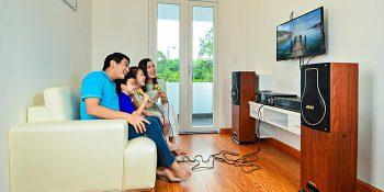 Bí quyết chọn lựa dàn âm thanh gia đình.