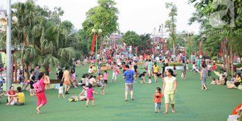Cung cấp, lắp đặt thiết bị âm thanh cho công viên khu vui chơi giải trí. 1