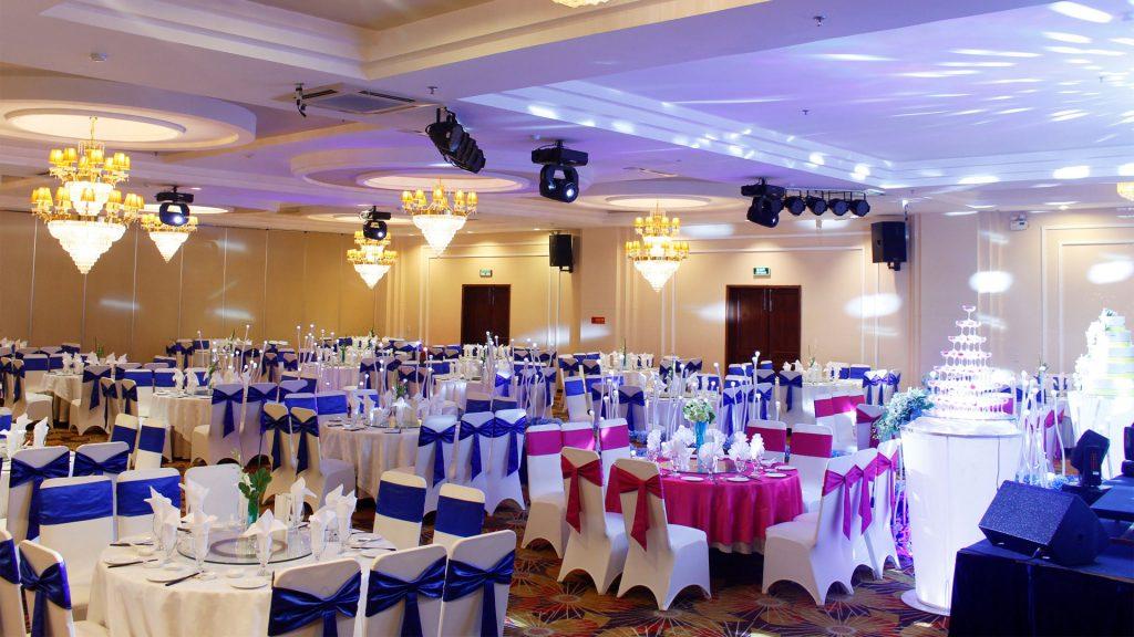 Hệ thống âm thanh nhà hàng tiệc cưới khách sạn