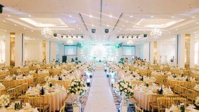 Hệ thống âm thanh nhà hàng tiệc cưới 1