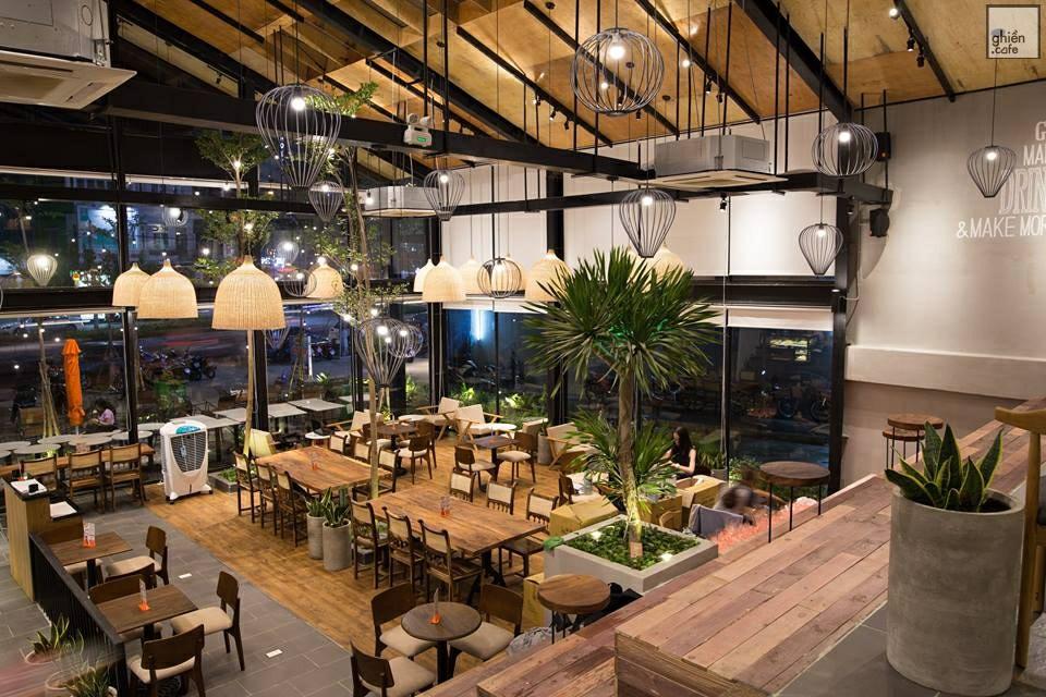 Loa nghe nhạc quán cafe góp phần tạo nên hệ thống âm thanh quán cà phê chất lượng