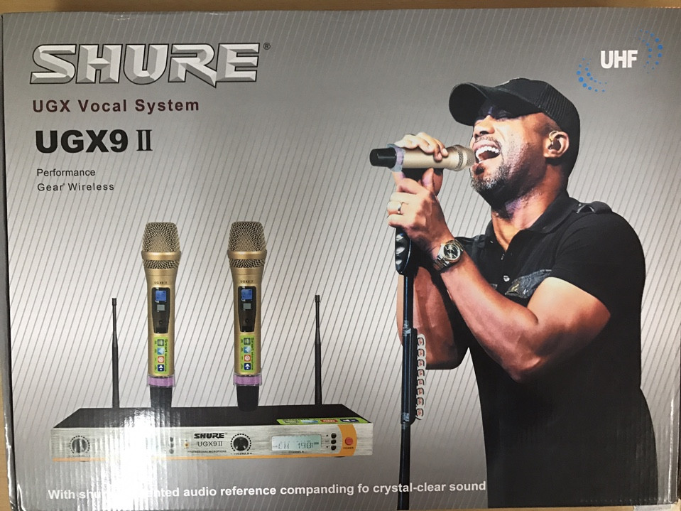 Micro không dây cao cấp Shure UGX9ii