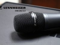 Đầu thu âm cao cấp của micro karaoke Sennheiser EW100G3