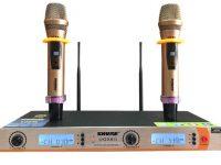 Micro không dây hát karaoke Shure