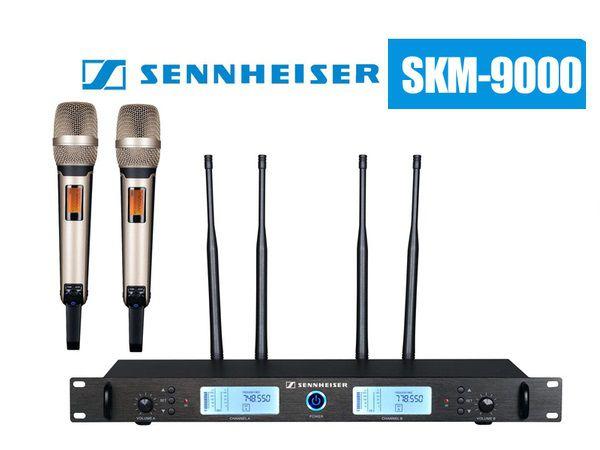 SKM 9000 tương thích với nhiều đầu thu sóng của Sennheiser