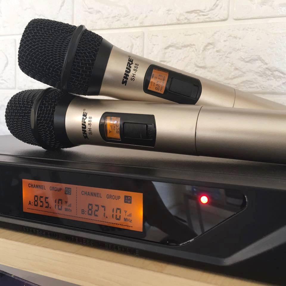 Micro không dây Shure SH888 - Sản phẩm mới nhất của Shure 1