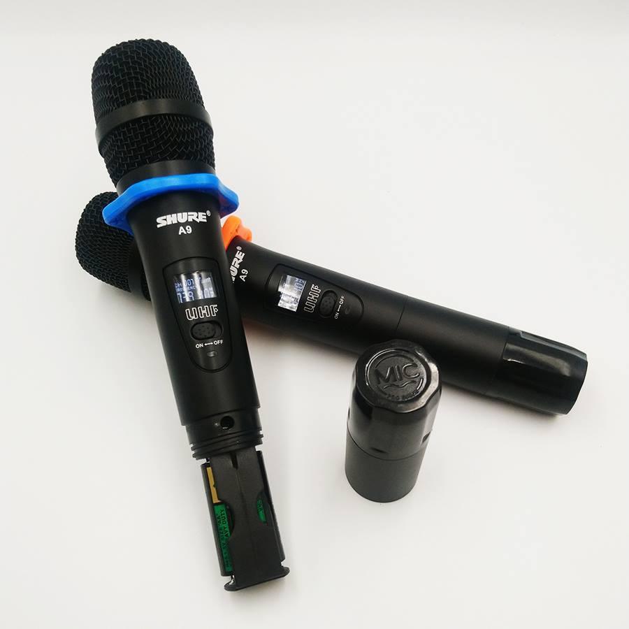 Bộ 2 Micro không dây Shure A9 1