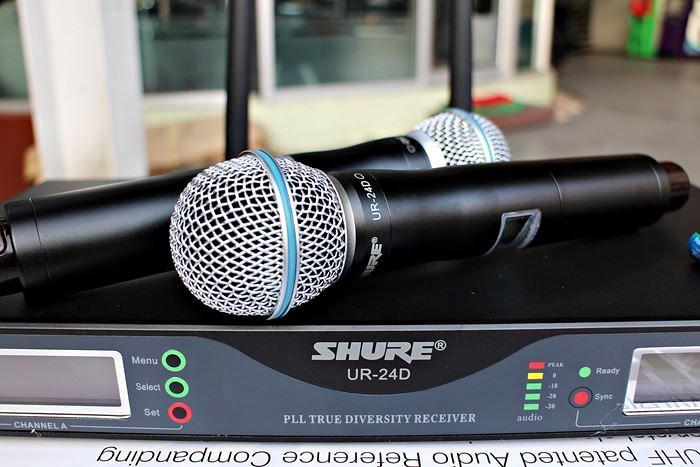 Micro không dây Shure UR24D 1