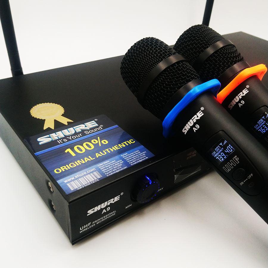 Bộ 2 Micro không dây Shure A9 2