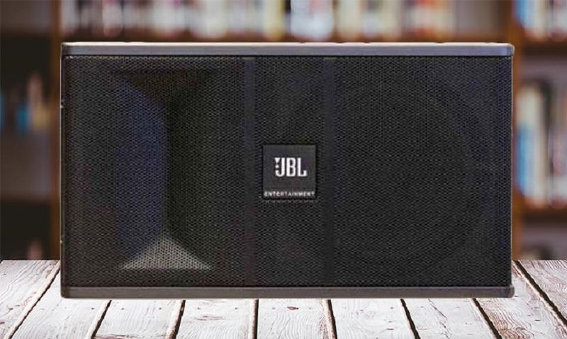 Loa karaoke JBL Ki 81 màu đen sang trọng