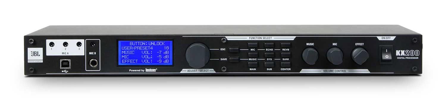 bộ xử lý tín hiệu kỹ thuật số jbl kx200