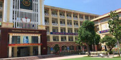 Lắp đặt hệ thống âm thanh thông báo trường học tại THCS Thanh Liệt 13