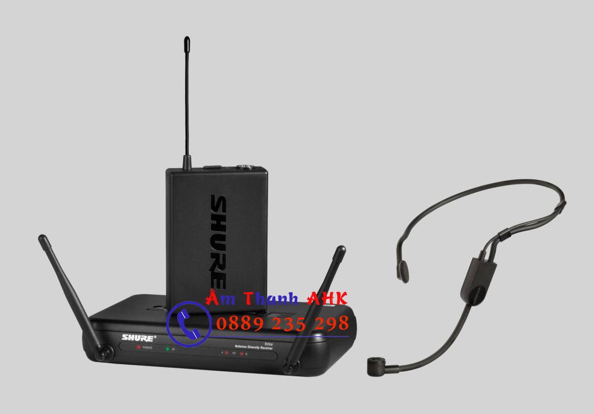 Micro không dây cài tai Shure SVX14/PGA31