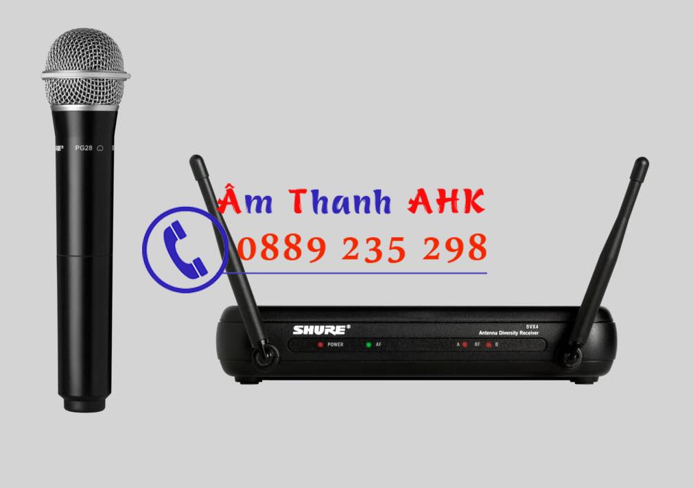 Bộ Micro không dây Shure SVX24/PG28