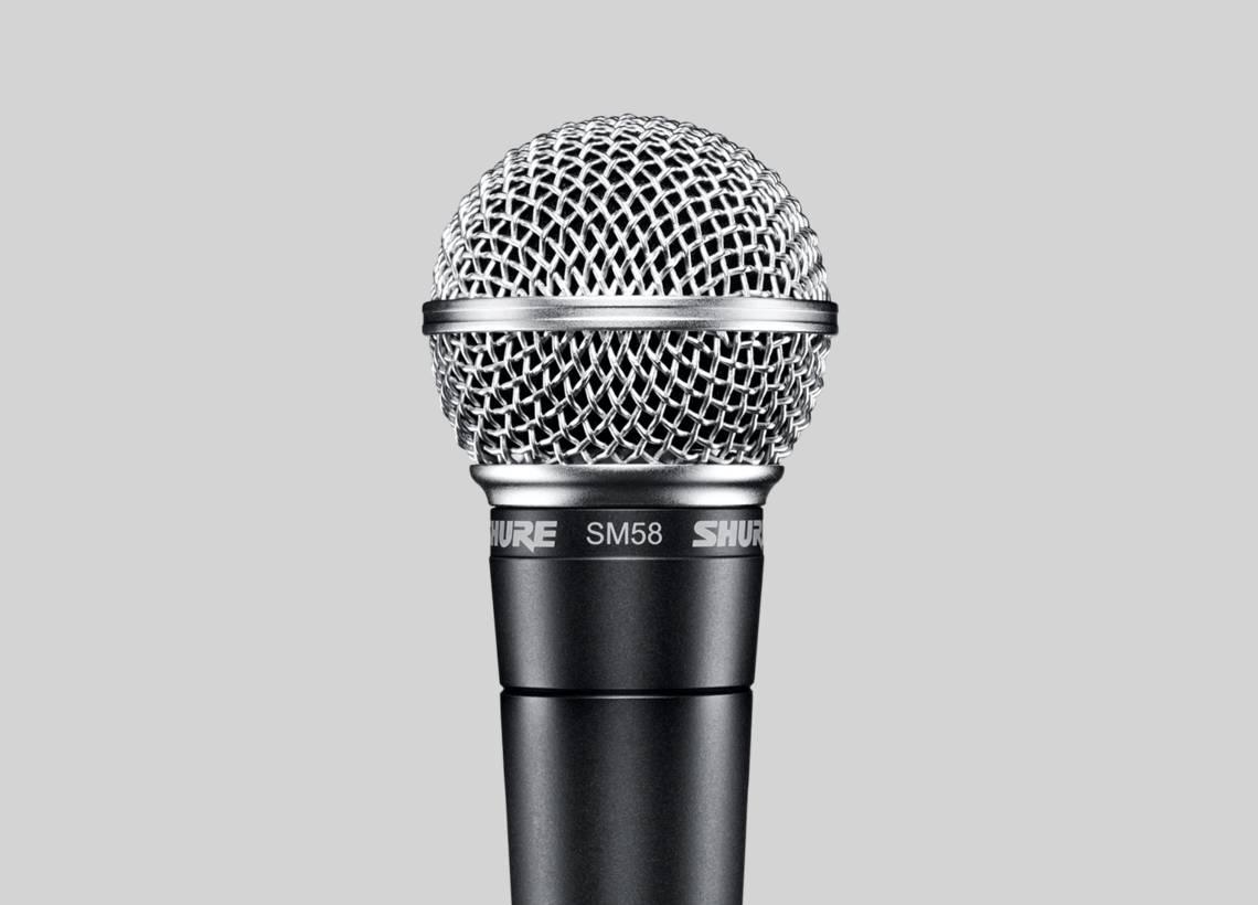 Micro karaoke Shure SM58