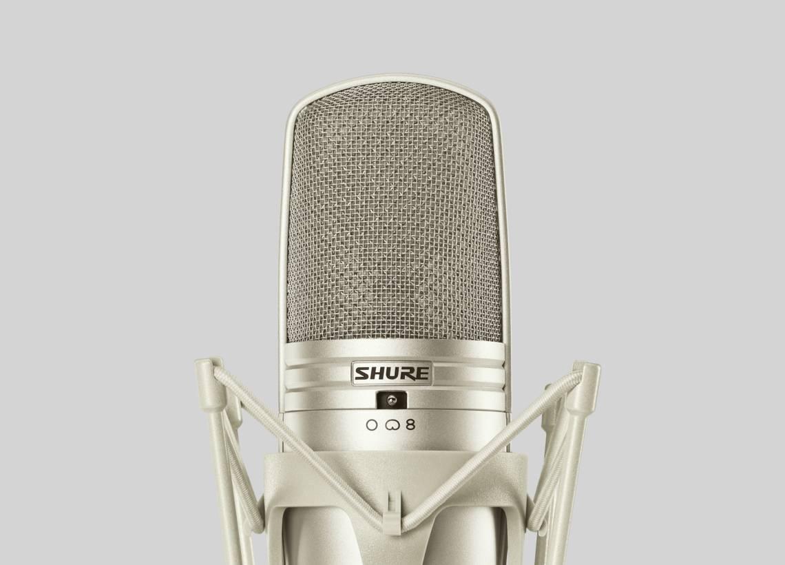 Micro cho đàn piano micro nhạc cụ Shure KSM44A