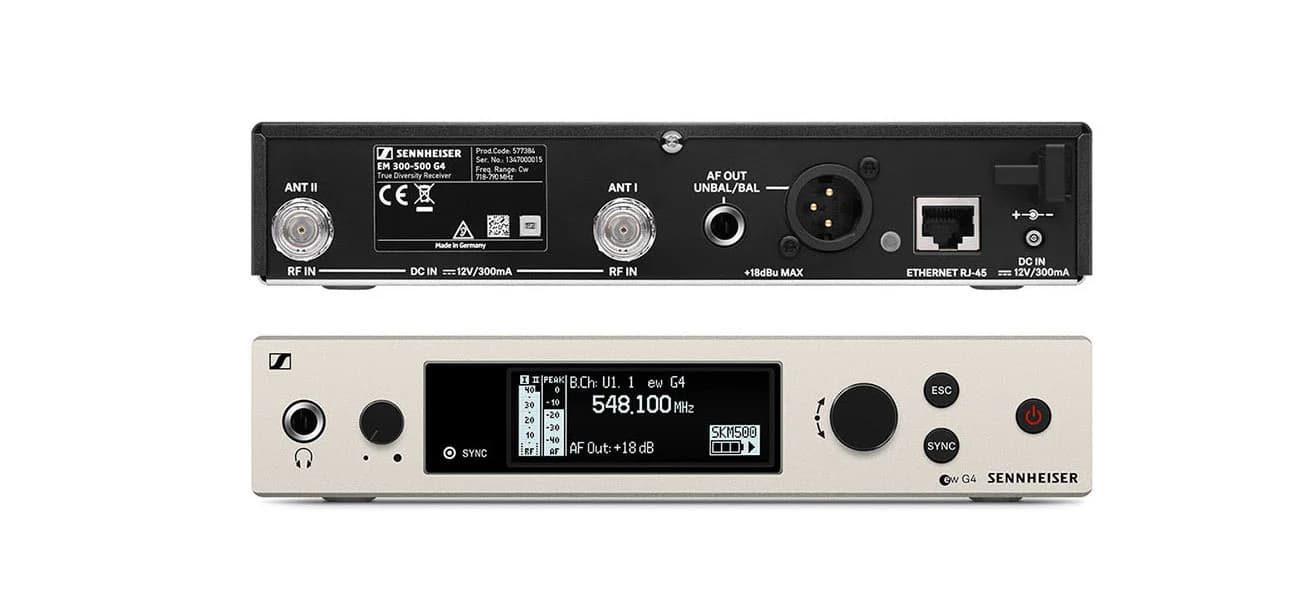 Đầu thu song micro không dây Sennheiser EW 500 G4-965