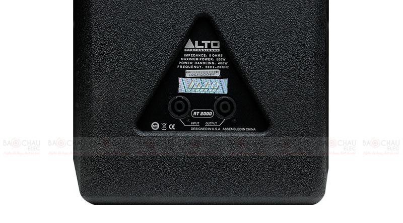 Loa karaoke Alto AT 2000