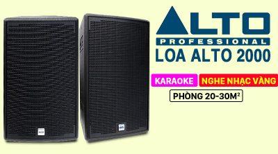 Loa karaoke Alto AT2000