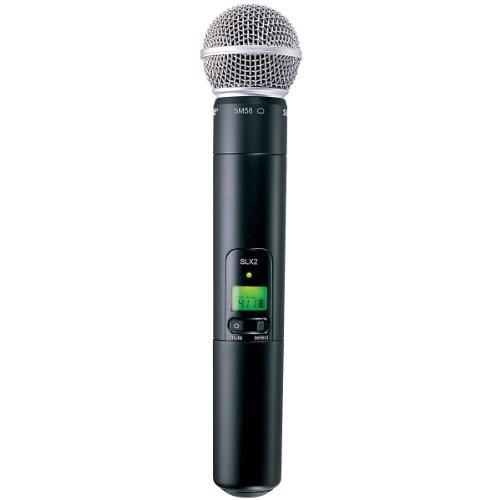 Micro karaoke Shure SLX2 SM58 với Micro SM58 H5