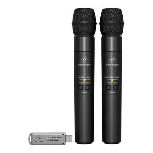 Micro karaoke không dây Behringer Ultralink ULM100USB