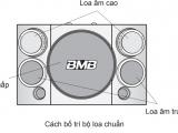 Cấu tạo Loa karaoke BMB CSE 310SE 3 đường tiếng